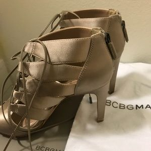 BCBG Satin Shoes